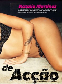 Эротичная Натали Мартинес  в журнале Maxim фото #2