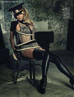 Сексуальная Наташа Яровенко в эротическом образе для журнала DT фото #4