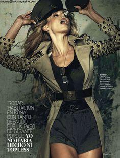 Сексуальная Наташа Яровенко в эротическом образе для журнала DT фото #6