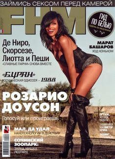 Горячая Розарио Доусон  в журнале FHM фото #1