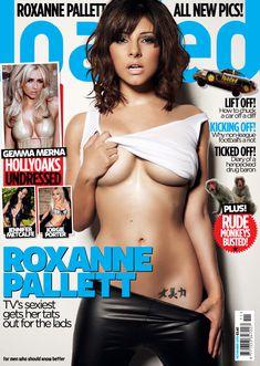 Сексуальная Роксанна Паллетт демонстрирует животик в журнале Loaded фото #1
