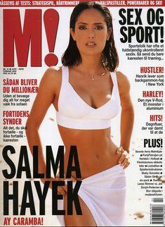 Эротичная Сальма Хайек  в журнале M! фото #1
