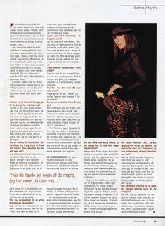 Эротичная Сальма Хайек  в журнале M! фото #5