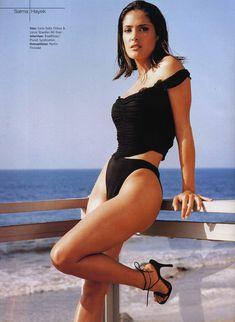 Эротичная Сальма Хайек  в журнале M! фото #8