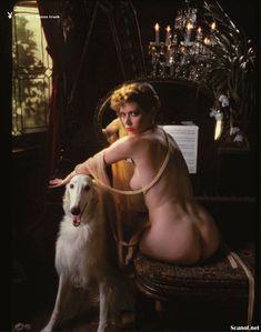 Голая грудь Сильвии Кристель засветилась в журнале Playboy фото #3