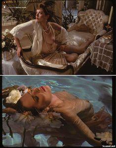 Голая грудь Сильвии Кристель засветилась в журнале Playboy фото #5