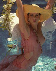 Голая грудь Сильвии Кристель засветилась в журнале Playboy фото #6