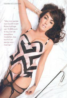 Сексапильная Тамара Экклстоун  в журнале P фото #3