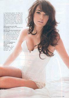 Сексапильная Тамара Экклстоун  в журнале P фото #4