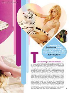 Тэрин Мэннинг разделась в журнале Playboy фото #2