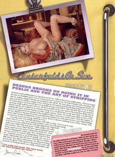 Голые сиськи Анны Николь Смит  в журнале Playboy фото #2