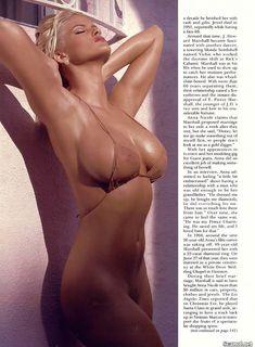 Голые сиськи Анны Николь Смит  в журнале Playboy фото #11