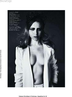 Эротичная Дэйзи Лоу  в журнале Jalouse фото #1