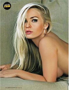 Красотка Имоджен Бэйли в сексуальном нижнем белье снялась в журнале FHM фото #1