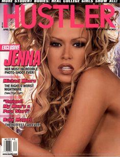 Голая киска Дженны Джеймсон  в журнале Hustler фото #1