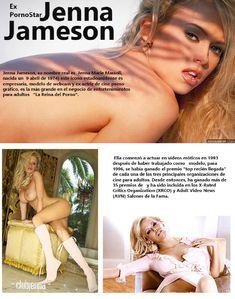 Раздетая Дженна Джеймсон  в журнале Revista Temas De Hombre фото #3