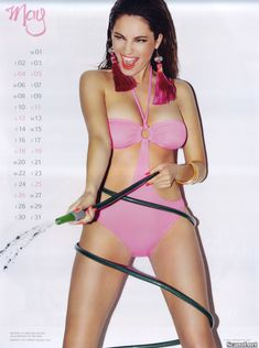 Горячая Келли Брук для календаря фото #6