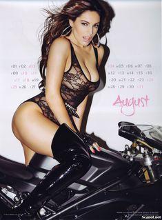 Горячая Келли Брук для календаря фото #9