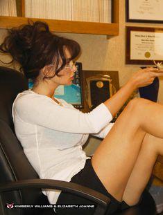 Горячие Кимберли Уильямс и Элизабет Джоан обнажились в американском Playboys Vixens фото #1