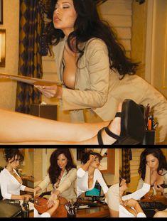Горячие Кимберли Уильямс и Элизабет Джоан обнажились в американском Playboys Vixens фото #2
