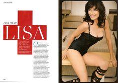 Аппетитная Лиза Эдельштейн в белье для журнала FHM фото #2