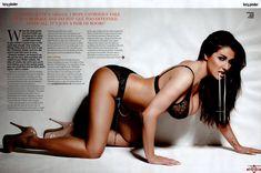 Снимки с голой Люси Пиндер  в журнале Loaded фото #3
