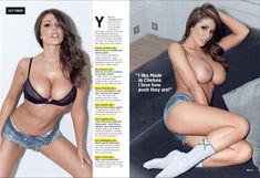 Красотка Люси Пиндер на страницах журнала Nuts фото #3