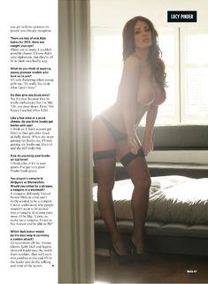 Голые прелести Люси Пиндер  в журнале Nuts фото #10