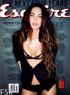 Секси Меган Фокс  в журнале Esquire фото #1