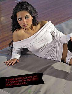 Секси Мила Кунис  в журнале FHM фото #6