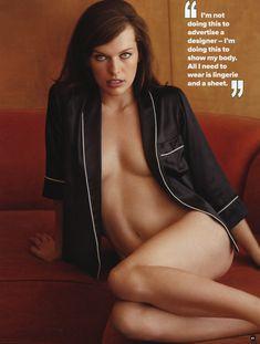 Секси Милла Йовович для журнала Maxim фото #1