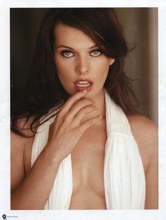Секси Милла Йовович для журнала Maxim фото #2