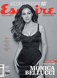 Горячая Моника Беллуччи  в журнале Esquire фото #1