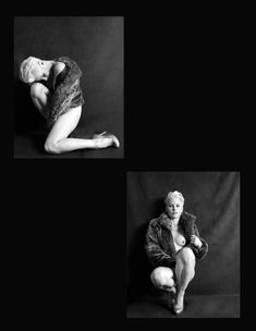 Красивая Моник Пэрент снялась голой в журнале Supermodel фото #6