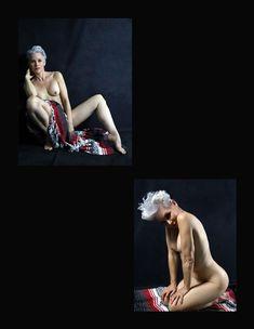 Красивая Моник Пэрент снялась голой в журнале Supermodel фото #7