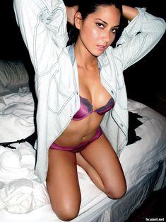 Эротичная Оливия Манн  в журнале Maxim фото #2