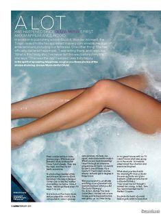 Эротичная Оливия Манн  в журнале Maxim фото #3