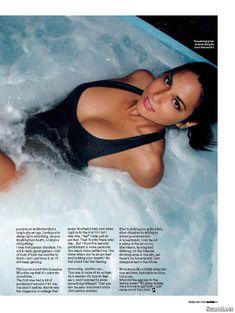 Эротичная Оливия Манн  в журнале Maxim фото #4