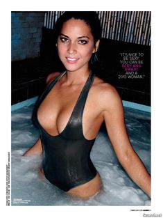 Эротичная Оливия Манн  в журнале Maxim фото #6