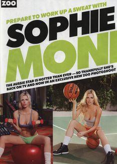Софи Монк без лифчика  в журнале ZOO фото #2