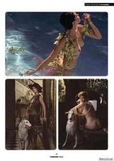Сексуальная Сильвия Кристель обнажила грудь в журнале Playboy фото #2