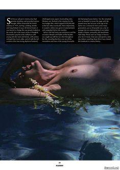 Сексуальная Сильвия Кристель обнажила грудь в журнале Playboy фото #3
