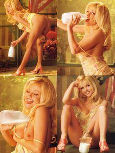 Анджела Литтл снялась голой в журнале Playboy Hors Serie фото #3