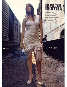 Сексуальная Барбара Херши обнажилась в журнале Playboy фото #1