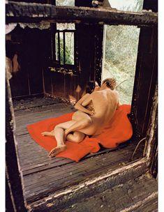 Сексуальная Барбара Херши обнажилась в журнале Playboy фото #4