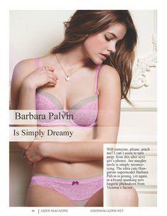 Барбара Палвин в нижнем белье для журнала Amen фото #2