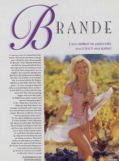 Игривая Бранд Родерик красиво обнажилась в журнале Playboy фото #2