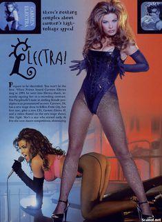 Молодое голое тело Кармен Электры в журнале Playboy фото #2
