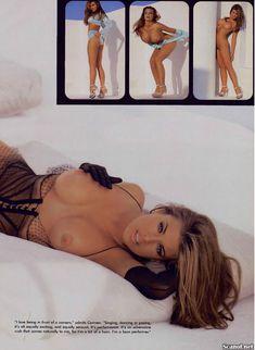 Молодое голое тело Кармен Электры в журнале Playboy фото #4