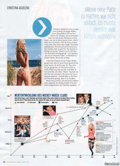 Кристина Агилера обнажилась  в журнале Maxim фото #6